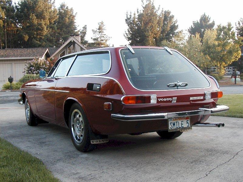 Volvo 1800ES 1973 Red (46)